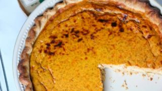 Pumpkin Quiche #PumpkinWeek