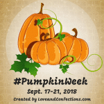 The pumpkin week logo