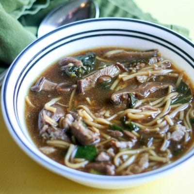 Instant Pot Chinese Pork Shoulder Soup