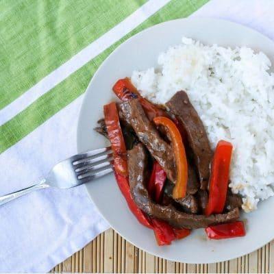 Japanese Style Pepper Steak