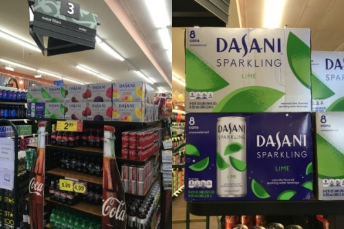 Showing DASANI Sparkling in store
