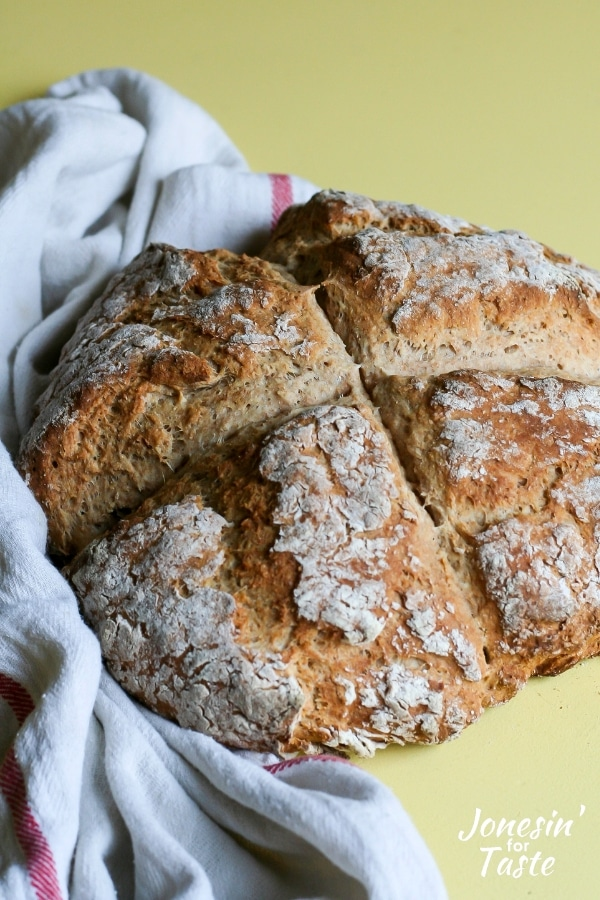 Easy Irish Soda Bread Recipe Jonesin For Taste