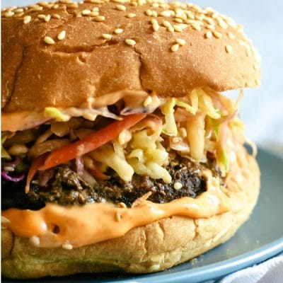 Korean BBQ Burger