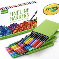Crayola Fine Line Markers, Assorted Colors, 40 Count