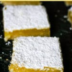 squares of lemon bars
