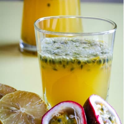 Passion Fruit Lemonade #FreakyFruitsFriday