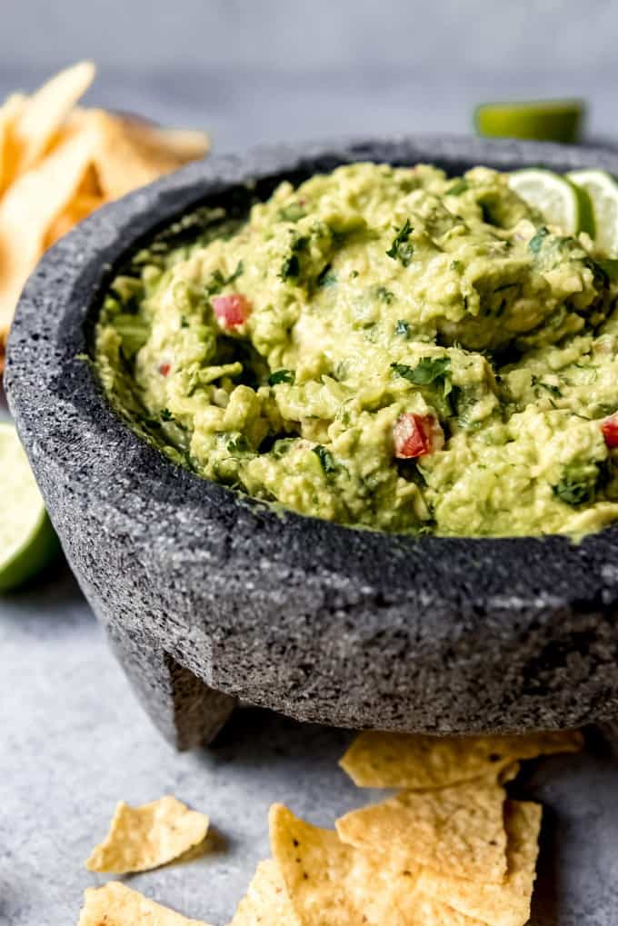 The BEST Guacamole Recipe Ever