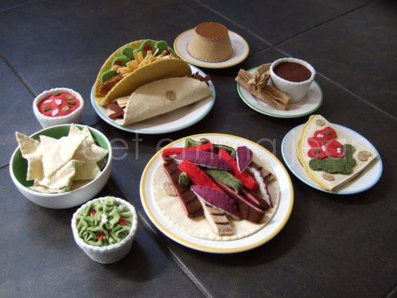 Cinco de Mayo Felt Food Pattern Special