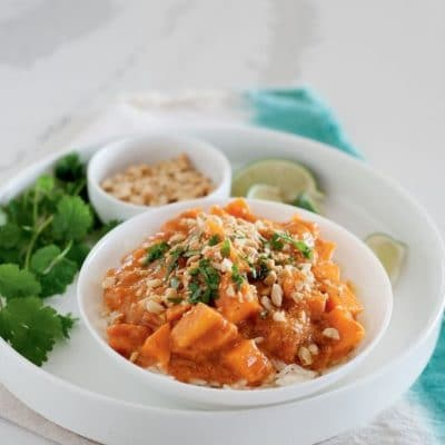 Easy Thai Sweet Potato Curry