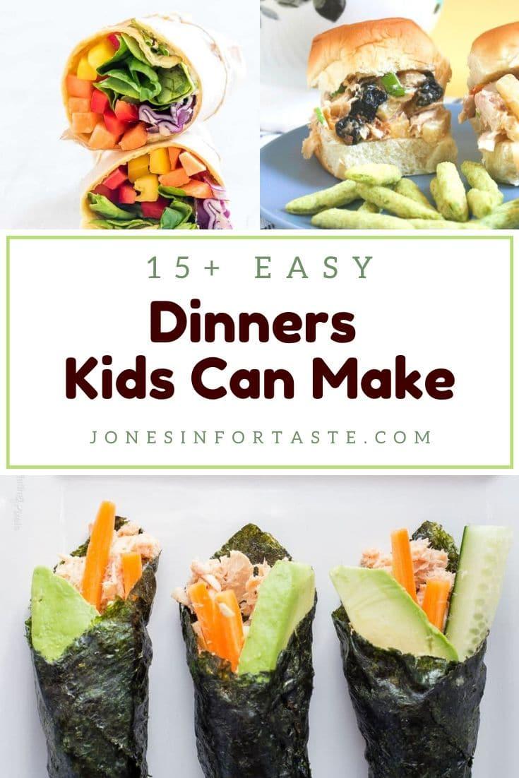 15+ Easy Dinner Recipes For Kids To Make