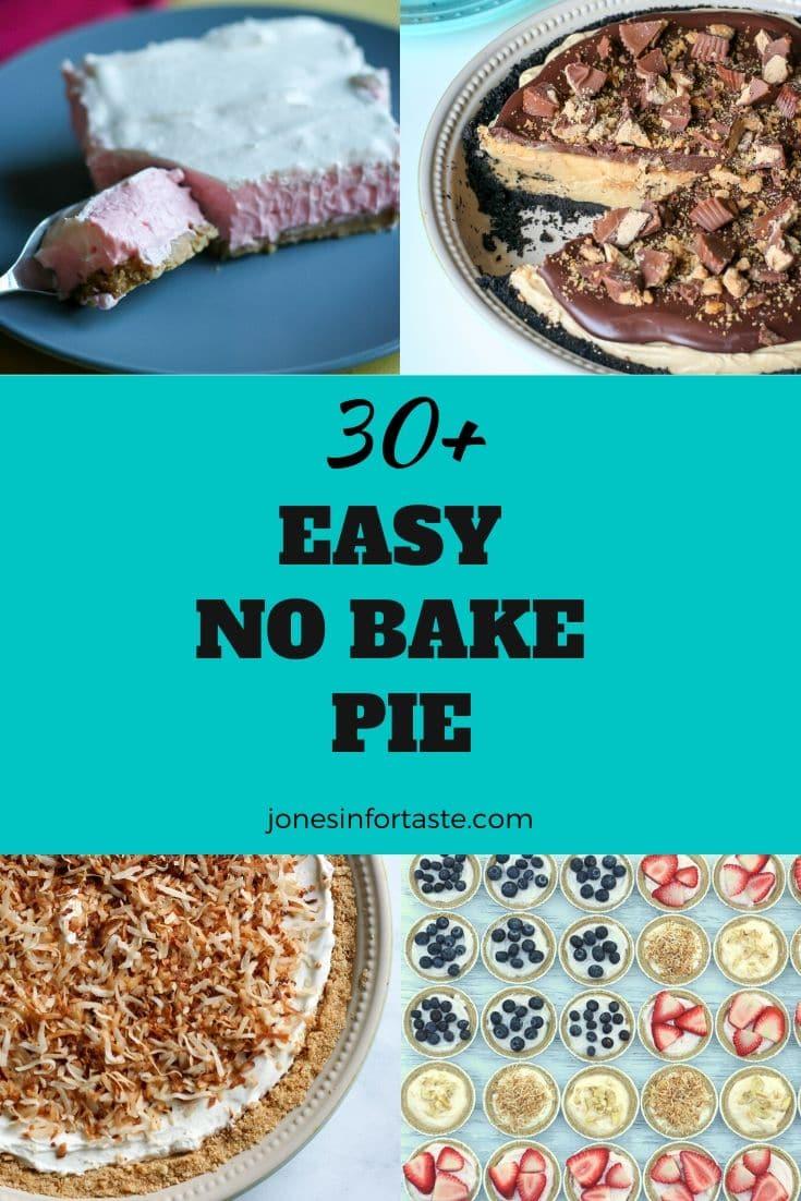 Easy No Bake Pie Recipes