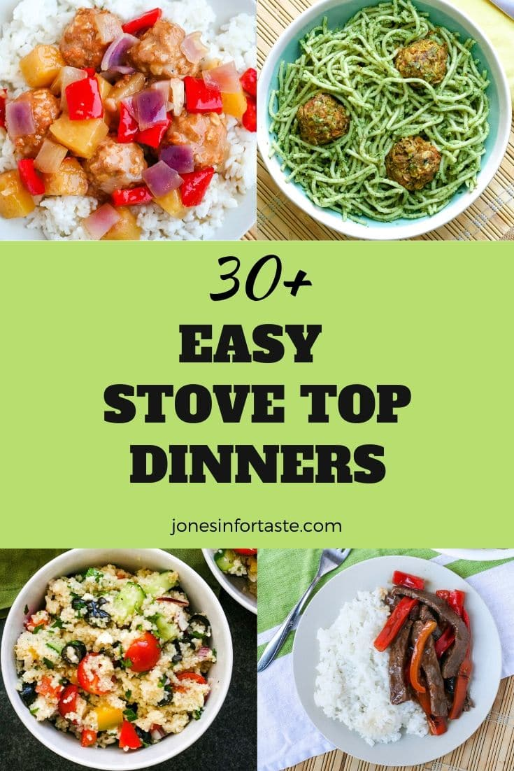 30+ Easy Stove Top Dinner Recipes