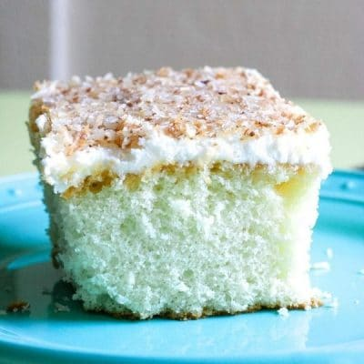 Easy Triple Coconut Sheet Cake