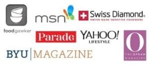 a collage showing logo from various media sources