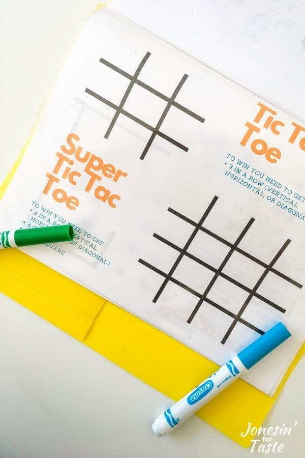 Free printable travel games for kids