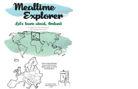 the cover of mealtime explorer Ireland